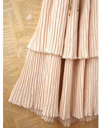 Free People   Natural Vintage Mary Mcfadden Gown   Lyst