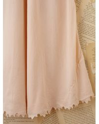 Free People | Pink Vintage Slip Dress | Lyst