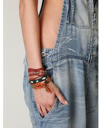 Free People | Blue Raer Donna Wideleg Overalls | Lyst