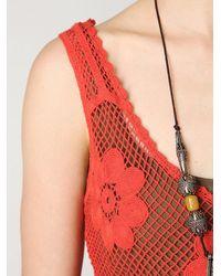 Free People - Engineered Crochet Tank - Lyst