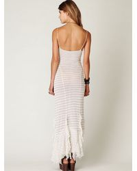 Free People - White The Hills Are Alive Slip - Lyst
