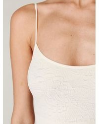 Free People | White Solid Seamless Bodysuit | Lyst