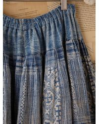 Free People | Multicolor Vintage Multi Fabric Skirt | Lyst