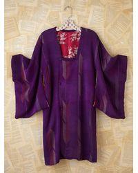 Free People | Purple Vintage Kimono | Lyst