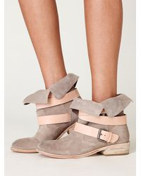 Free People | Natural Sylvia Boot | Lyst