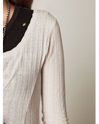 Free People - Natural Moon Duster Maxi - Lyst