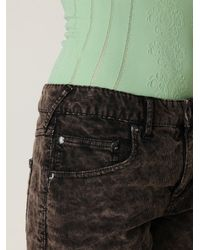 Free People - Black Fp Corduroy Cutoff Shorts - Lyst