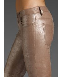 Graham & Spencer | Gold Leather Pants | Lyst