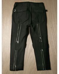 Sasquatchfabrix | Black Mens Wool Blend Bondage Pants for Men | Lyst