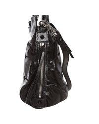 Botkier - Black Snake Embossed Leather Maddie Satchel - Lyst