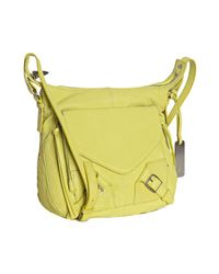 Botkier | Yellow Key Lime Leather Helena Crossbody Bag | Lyst