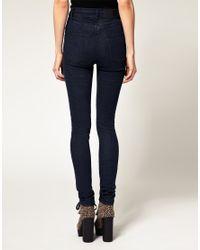 Cheap Monday | Blue Rinse Wash Tight Skinny Jean | Lyst