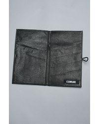 Comune - The Davis Travel Wallet in Black for Men - Lyst