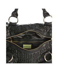 Deux Lux | Black Quilted Heart Love Drops Duffel Bag | Lyst