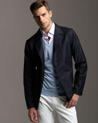 Ermenegildo Zegna | Black Element Resistant Jacket for Men | Lyst