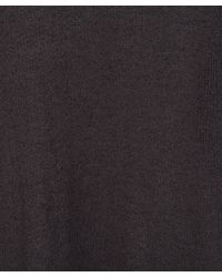 Eskandar - Gray Charcoal A-line Knitted Silk Cardigan - Lyst