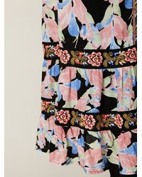 Free People - Multicolor Flower Explosion Dress - Lyst