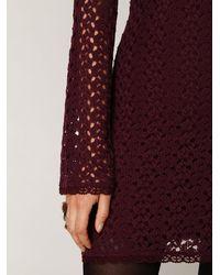 Free People | Purple Gypsy Lace Dress | Lyst