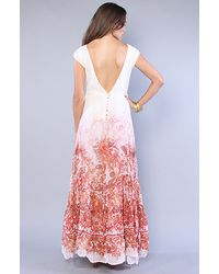 Free People - Pink The Placed Paisley Dress - Lyst