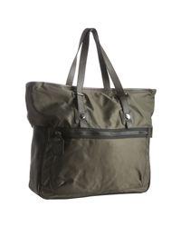 Furla - Army Green Amsterdam Tote Bag for Men - Lyst