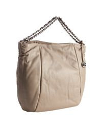 Furla - Natural Coffee Leather Chain Handle Tote - Lyst