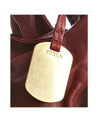 Furla | Red Leather Elisabeth Crossbody Shopper Tote | Lyst