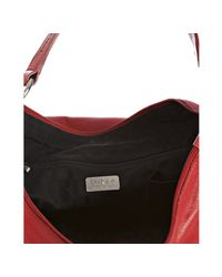 Furla | Red Geranio Pebble Leather Hope Shoulder Bag | Lyst