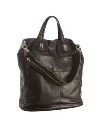 Givenchy | Dark Brown Leather Nightingale Shopper | Lyst