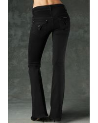 Hudson Jeans - Black Christa Mid Rise Flare - Lyst