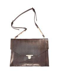 Lanvin | Brown Miss Sartorial Medium Envelope Bag | Lyst