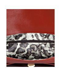 Longchamp - Red Terracotta Leather Gatsby Shoulder Bag - Lyst