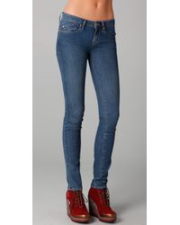 Marc By Marc Jacobs | Blue Standard Supply Lou Skinny Jeans | Lyst