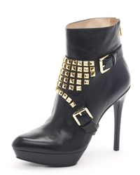 Michael Kors | Black Rock N Roll Bootie | Lyst