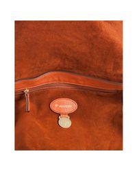 Mulberry | Orange Pumpkin Leather Alexa Oversized Satchel | Lyst