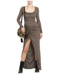 Patrizia Pepe | Natural Maxi Dress | Lyst