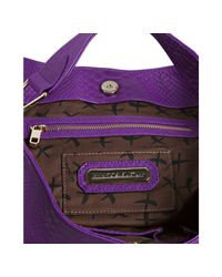 Rebecca Minkoff | Purple Alligator Embossed Leather Nikki Hobo | Lyst