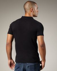 Royal Underground | Black Ticket Polo for Men | Lyst