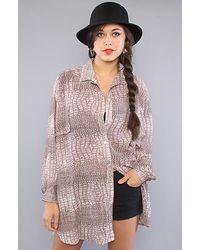 StyleStalker - Multicolor Olsen Shirt - Lyst
