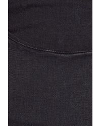 Acne | Black Skin Rocca Mid-rise Skinny Jeans | Lyst
