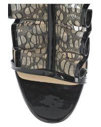 Christian Louboutin - Black Fortitia 100 Sandals - Lyst