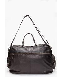 DIESEL - Black Cushy Duffle Bag for Men - Lyst