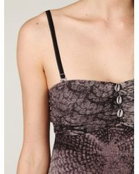 Free People - Gray Stormy Nights Tube Dress - Lyst
