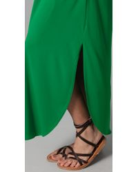 Josa Tulum - Green Rustic Long Cover Up Dress - Lyst
