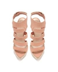 Loeffler Randall - Pink Paloma Espadrille Stiletto Sandal - Lyst