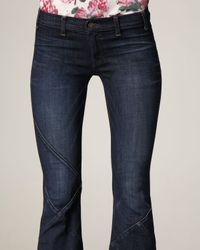 Textile Elizabeth and James | Blue Marley Crisscross Jeans | Lyst
