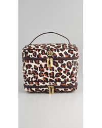 Tory Burch | Multicolor Double-zip Train Case | Lyst