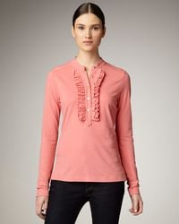 Tory Burch | Pink Romilly Top | Lyst