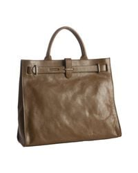 Furla | Brown Leather Greta Large Shopper Tote | Lyst