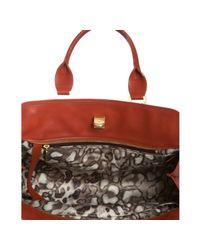 Longchamp - Red Terracotta Leather Gatsby Handbag - Lyst