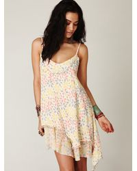 Free People - Multicolor Fp One Embellished Dress - Lyst